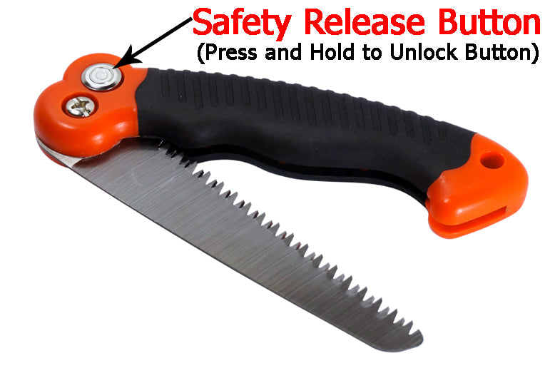 "10.5"" Mini Survival Pocket Folding Blade Saw Blade"