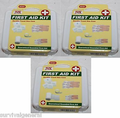 Set of 3 Mini Personal Compact First Aid Kit