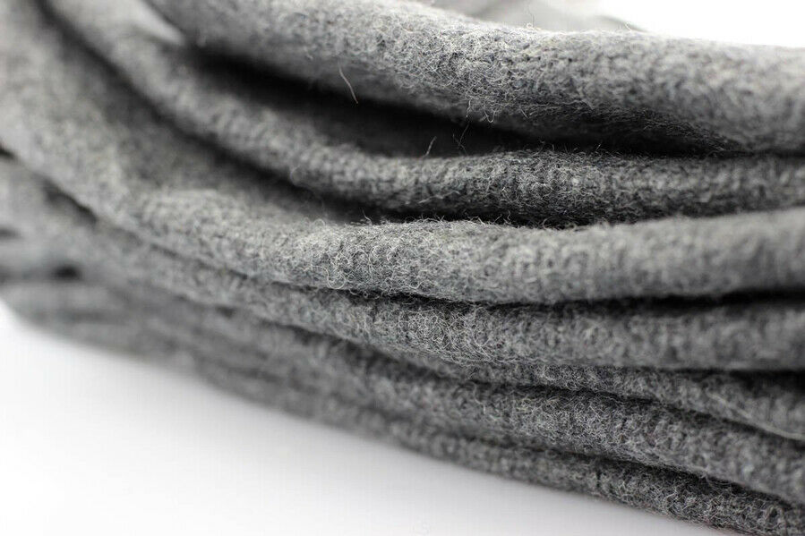 2lb Wool Blanket Gray Warm Army Style Military Emergency Survival Camping