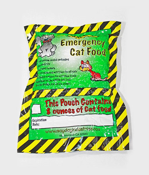 Emergency Survival Cat Food 8oz Five Year Shelf Life