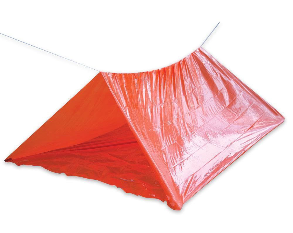 Fire Retardant Orange Shelter Tube Tent