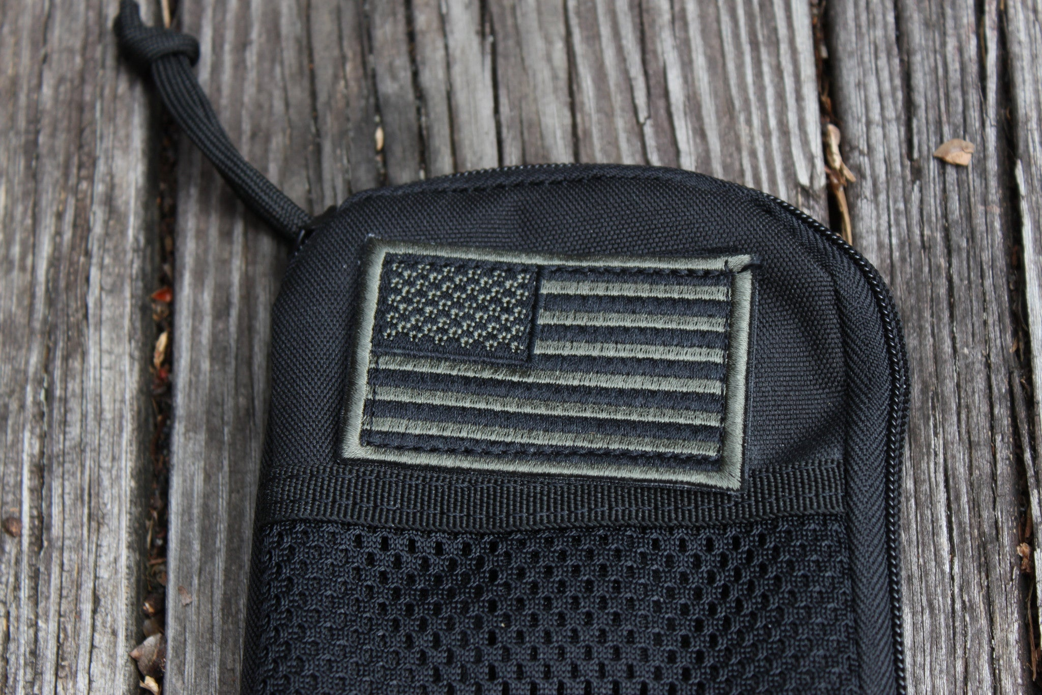 BDU Wallet Solid Black
