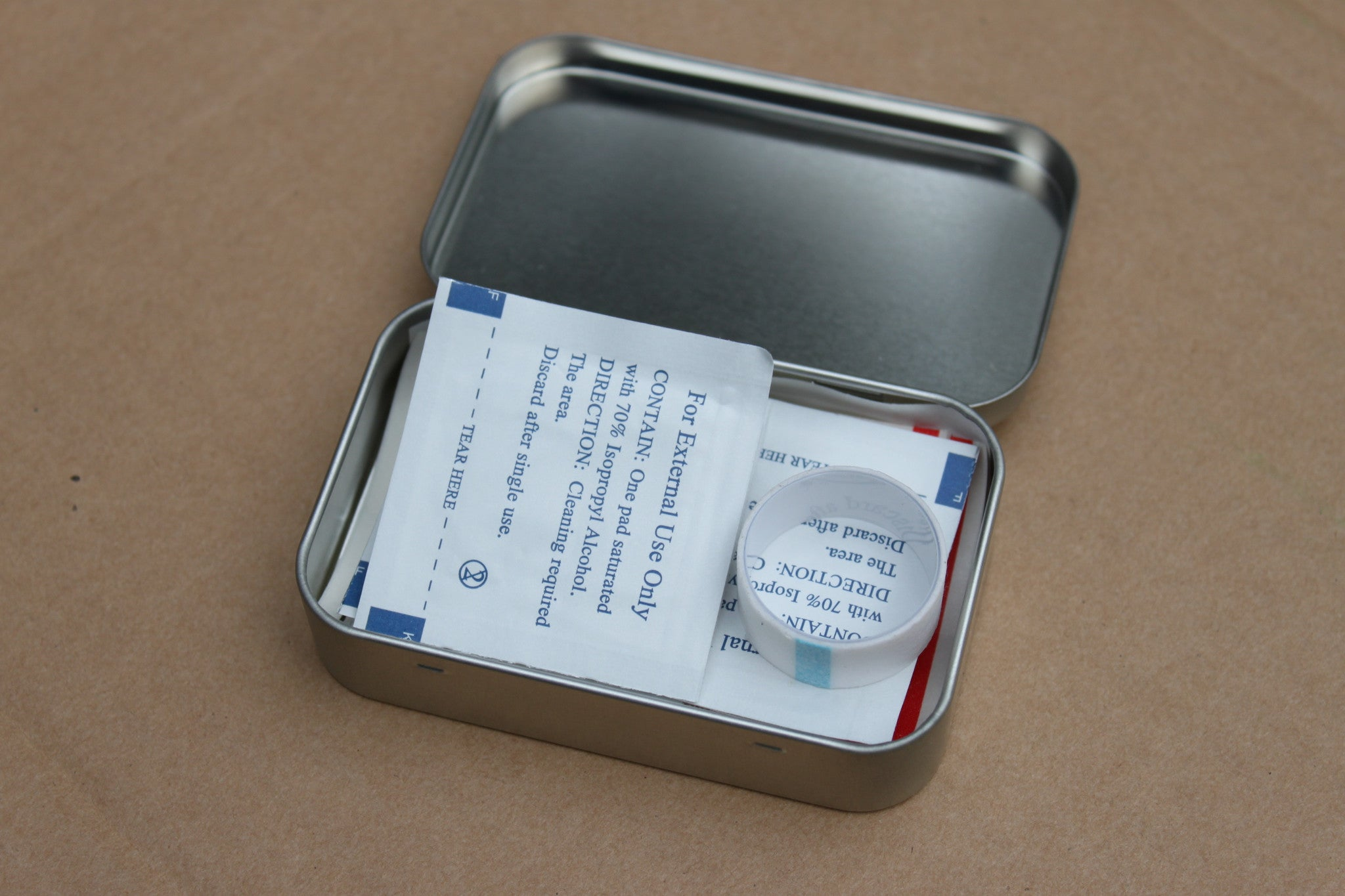 Tin Can First Aid Kit 1.0