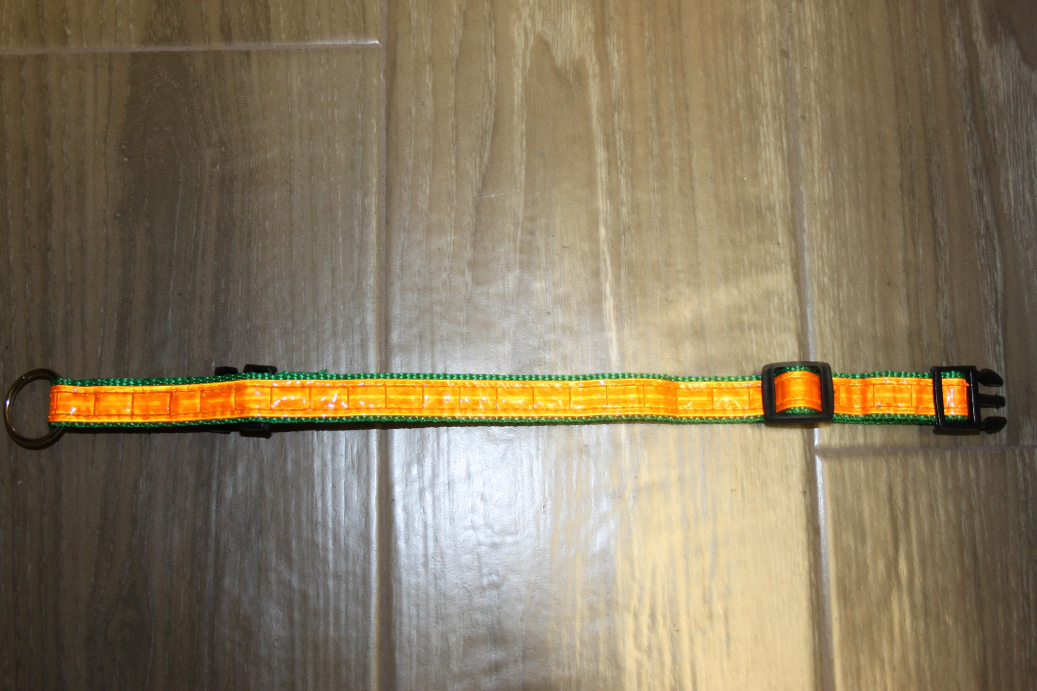 "Reflective Dog Collar 8"" to 14"""