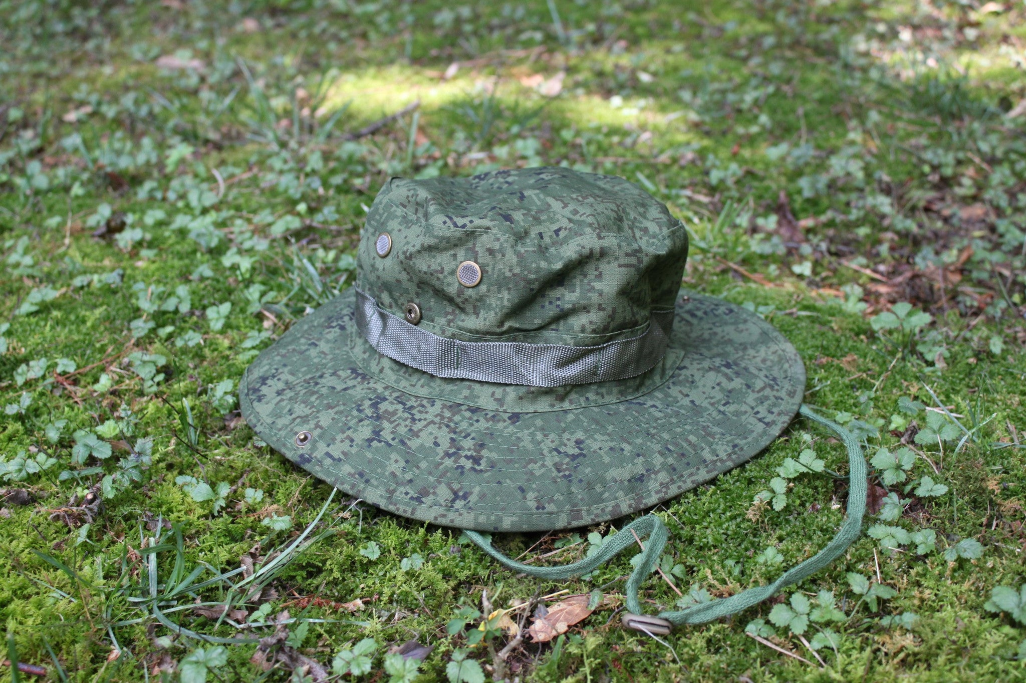 Solid OD Green Digital Boonie Hat