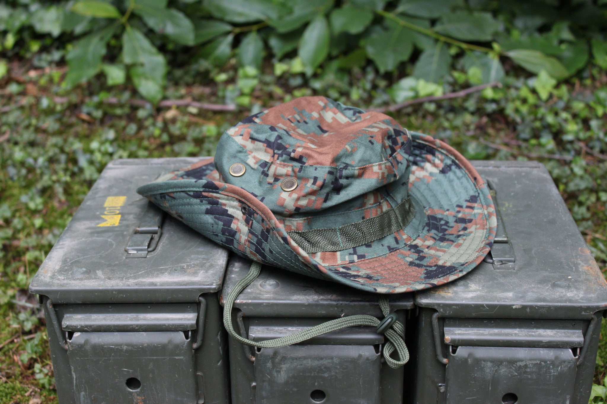 OD Green Digital Boonie Hat
