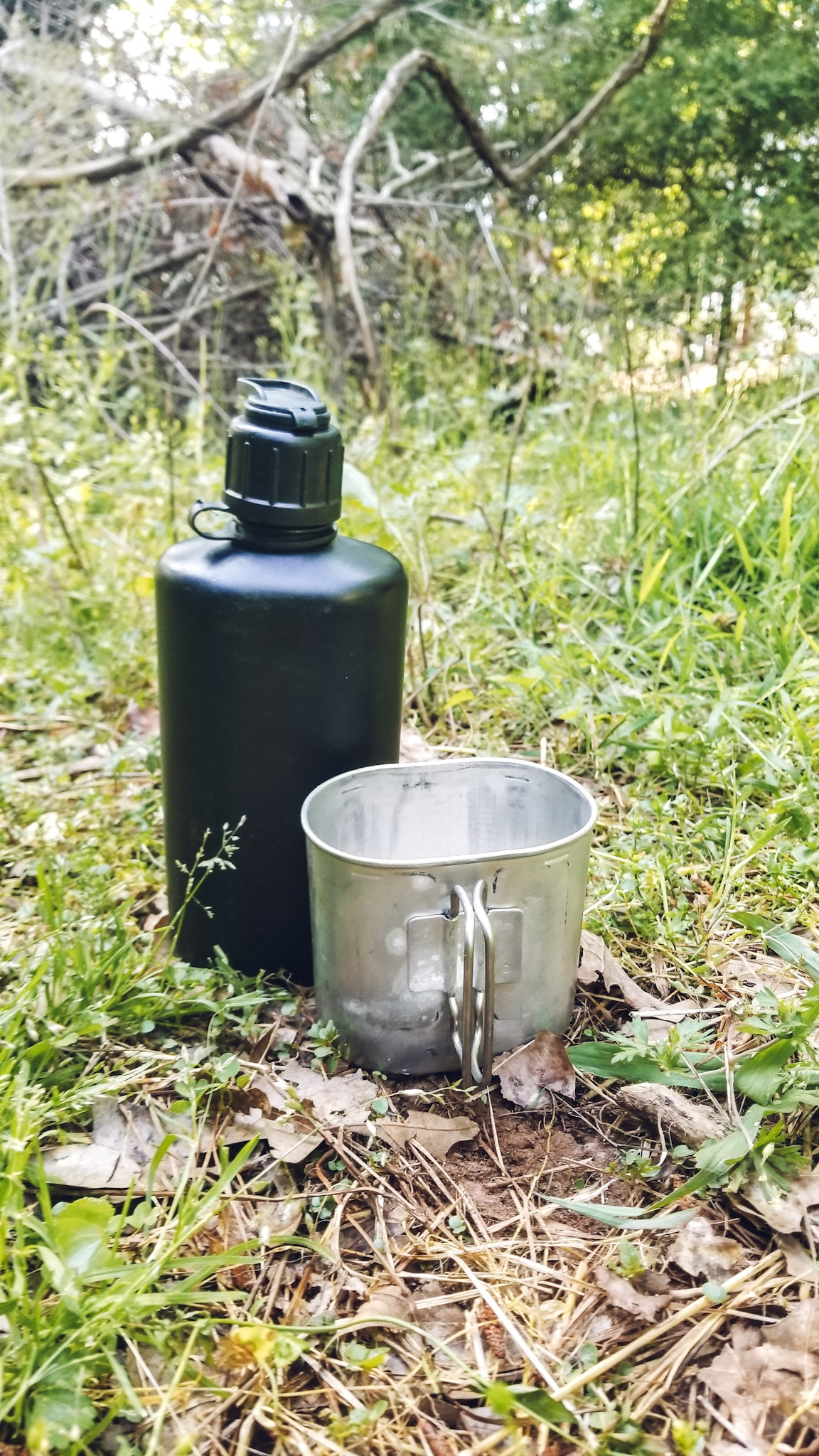 Swiss Army M84 Canteen with Cup