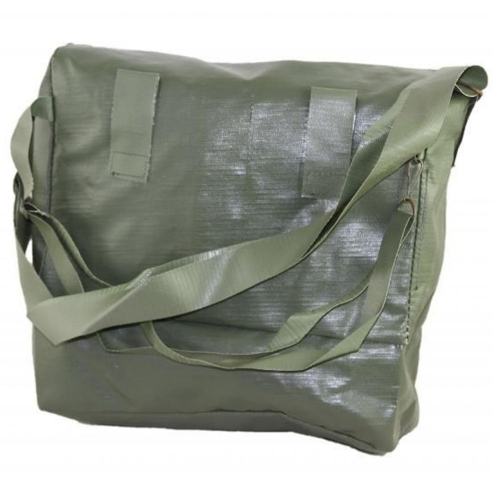 Original Green Czech Vinyl M10 Gas Mask Bag ONLY