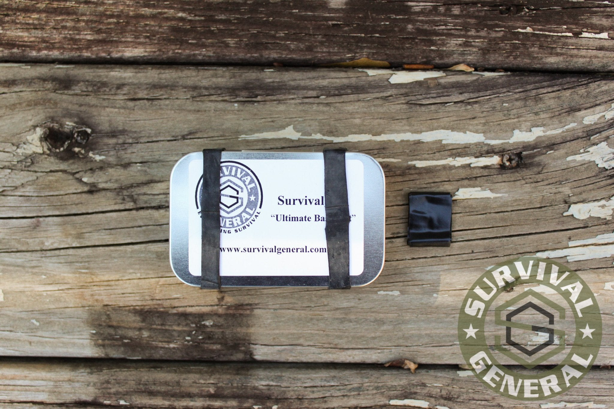 Survival General Pocket Tin Survival Kit