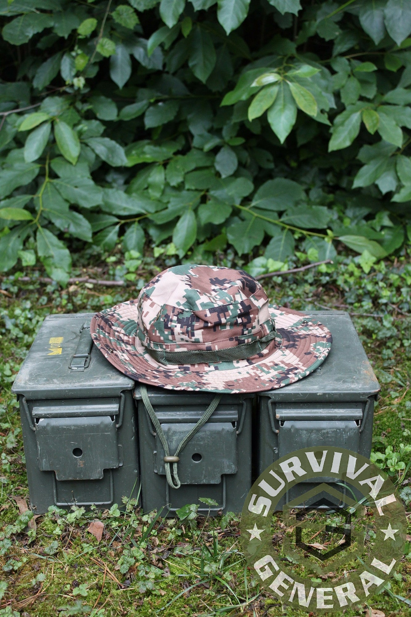 Tan Digital Boonie Hat