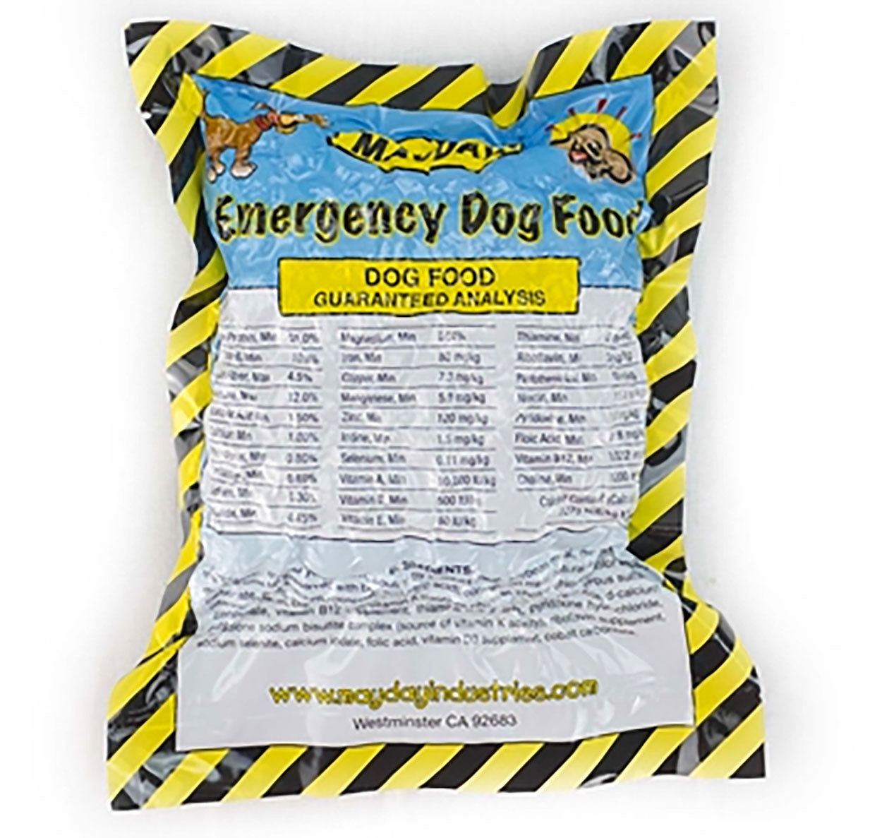 Emergency Survival Dog Food 8oz Five Year Shelf Life