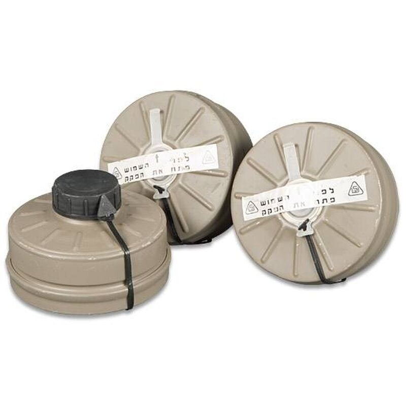 Israeli 40mm Nato Gas Mask Filter for NBC Masks