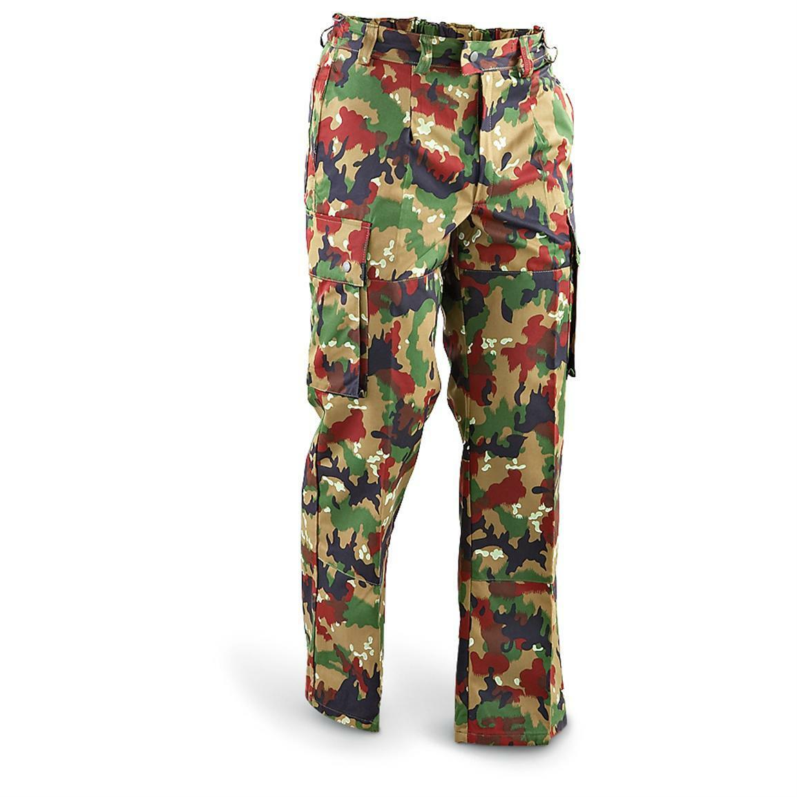 Swiss M83 Alpenflage Camo Field Pants