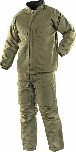 NEW NOS USGI NBC Hazmat Chemical SUIT Military OD Green Size Large