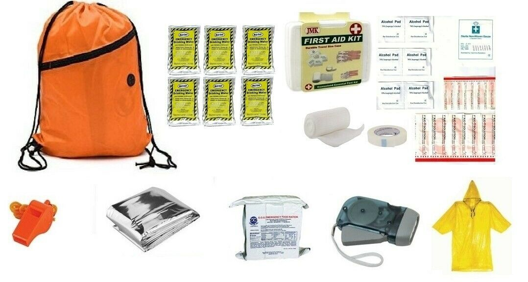3 Day Basic Emergency Kit with Food and Water