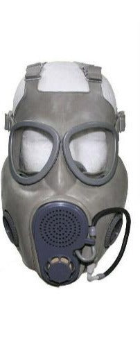 Military Czech Gas Mask with bag and filter. Mask is made with hydration straw.