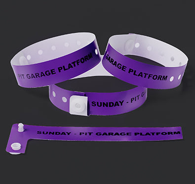 Custom Soft Plastic Wristbands