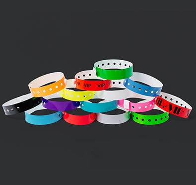 Stock Soft Plastic Wristbands