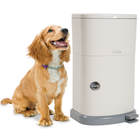 Training Champ-Odor Free Dog Training Pad Disposal System