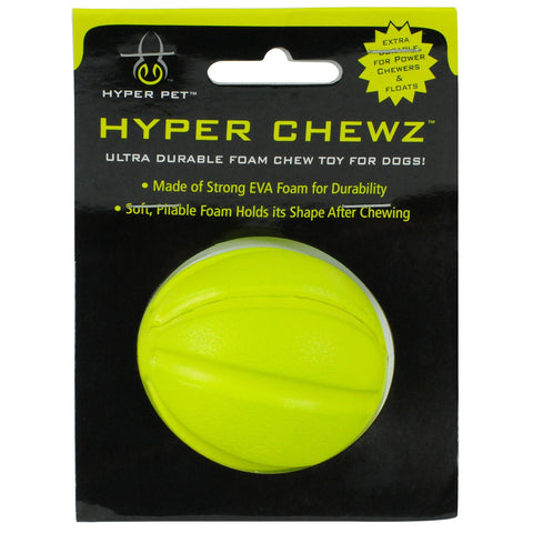 Hyper Pet Chewz Ball Dog Toy Green