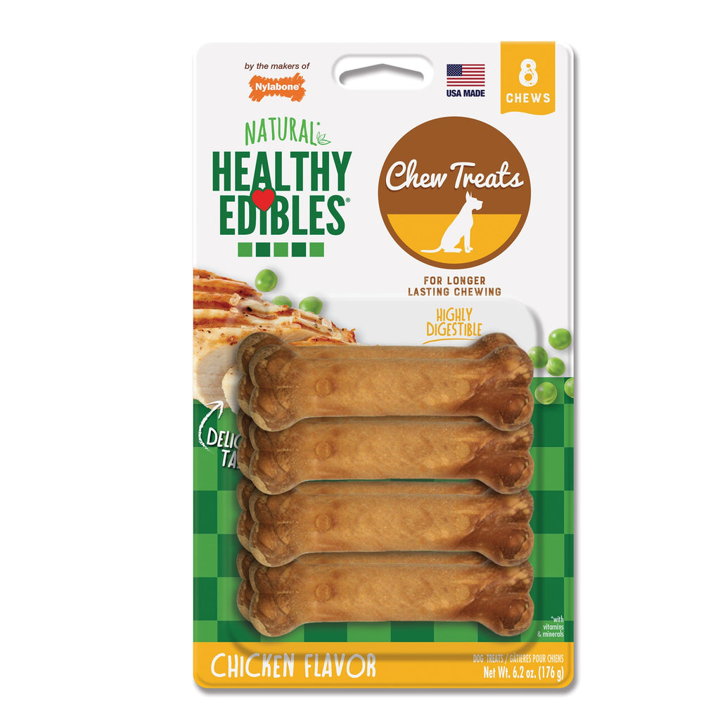 Nylabone Healthy Edibles Longer Lasting Chicken Treats