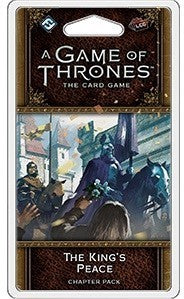 A Game Of Thrones LCG 2nd Edition The Kings Peace Chapter Pack