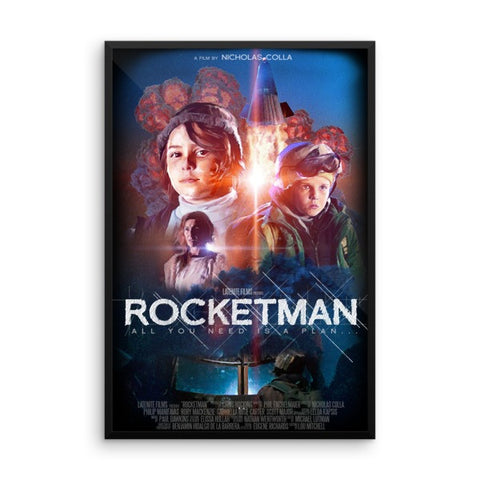 Rocketman Framed Poster
