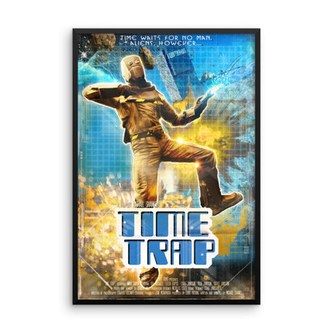 Time Trap Framed Poster