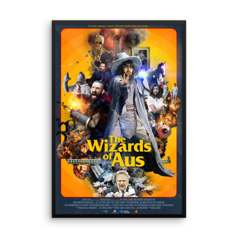 Wizards Framed Poster
