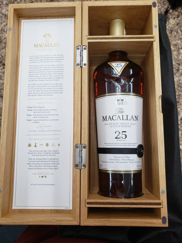Macallan Sherry Oak 25yr