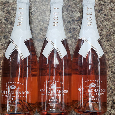 Moet & Chandon Nector Imperial Rose Virgil Abloh