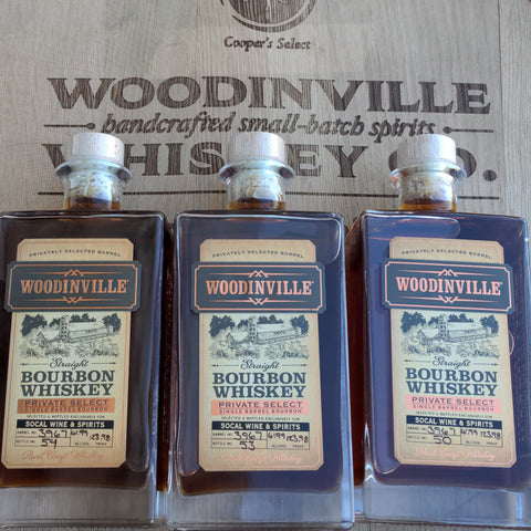 Woodinville Single Barrel Store Pick 123.98 Proof