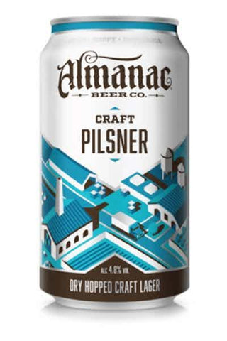 Almanac Craft Pilsner 6pk Cans