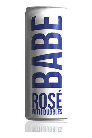 Babe Rose With Bubble Cans