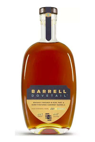Barrell Dovetail Finished in Rum,Port, Cabernet
