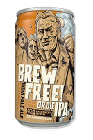21st Amendment Brew Free! Or Die 6Pack Cans