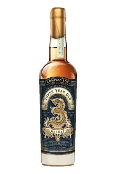 "Compass Box ""Three Year Old Deluxe"" - SoCal Wine & Spirits"