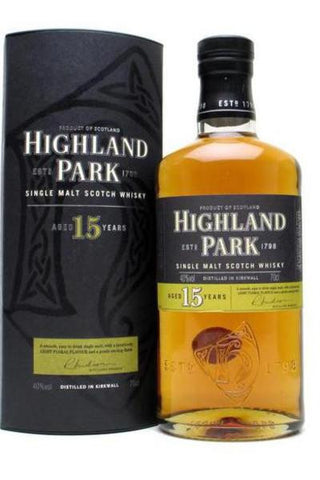 Highland Park Fire Edition 15yr 750ML