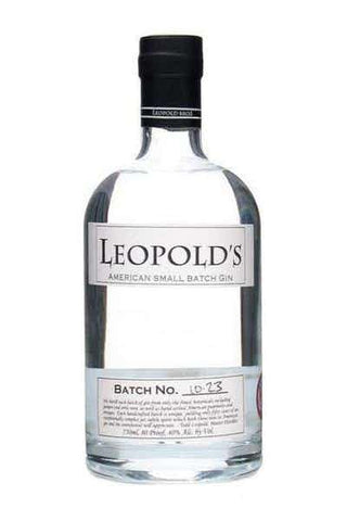 Leopold's Small Batch Gin 750M