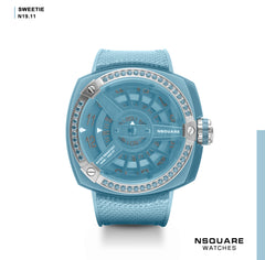 NSQUARE Sweetie Quartz Watch -51mm N19.11 Ocean Blue|NSQUARE 甜美系列 石英錶-51毫米 N19.11 海洋藍