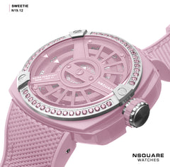 NSQUARE Sweetie Quartz Watch -51mm  N19.12 Pink|NSQUARE 甜美系列 石英錶-51毫米  N19.12 粉紅色