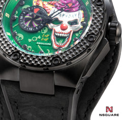 NSQUARE JAPJAP AUTOMATIC WATCH - 46MM N42.2 Violent green|NSQUARE JAPJAP系列 自動錶-46毫米 N42.2 狂暴綠色 限量版