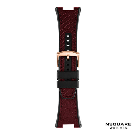 N 10-NIGHT MAROON STRAP|N 10-夜栗紅色錶帶