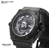 NSQUARE PirateStorm Automatic Watch - 48mm N15.1 All Black|海盜風暴 自動錶 - 48mm N15.1 黑色