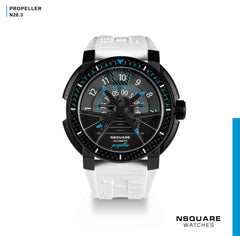 NSQUARE Propeller Automatic Watch - 48mm N26.3 White|NSQUARE 螺旋槳 自動錶-48毫米 N26.3 白色