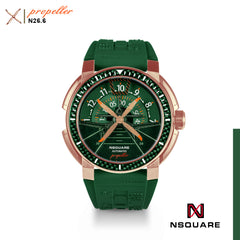 NSQUARE Propeller Automatic Watch - 48mm N26.6 Green|NSQUARE 螺旋槳 自動錶-48毫米 N26.6綠色