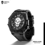 NSQUARE Skull Automatic-N30.1 All Black Limited Edition 200pcs|NSQUARE 骷髏系列 自動錶-N30 黒 限量版200隻