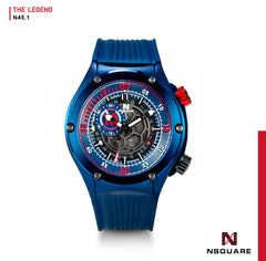 NSQUARE The Legend Automatic N45.1 Blue LIMITED EDITION|NSQUARE傳奇系列 自動錶N45.1 藍色限量版