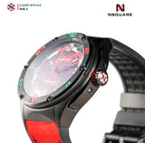 NSQUARE Casino Royale Automatic N40.3 RED/BLACK LIMITED EDITION|NSQUARE皇家賭場系列 自動錶N40.3 紅色/黑色限量版