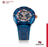 NSQUARE Casino Royale Automatic N40.4 Blue/RG LIMITED EDITION|NSQUARE皇家賭場系列 自動錶N40.4 藍色/玫瑰金限量版